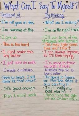 Growth Mindset What Else Can I Say