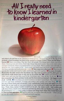 capture kindergarten2 - Everything I Know I Learned In Kindergarten
