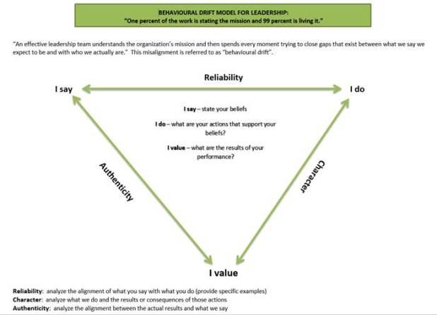 behavioural drift model